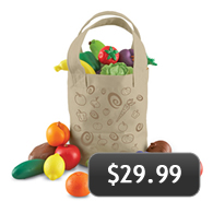 Kids Fruit & Veggie Tote